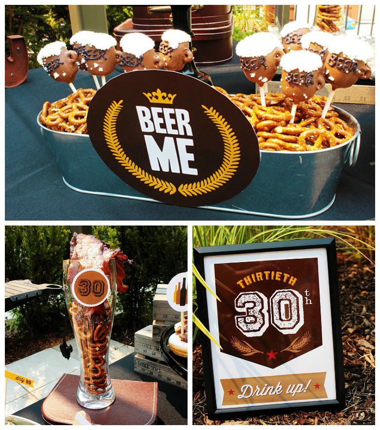 {Epic} Dirty Thirty Birthday Beer Party!