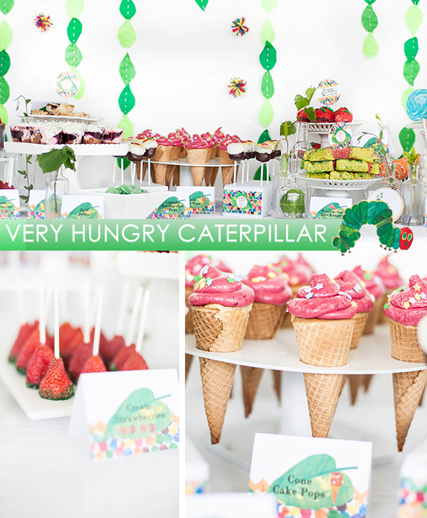 Love this very hungry caterpillar party