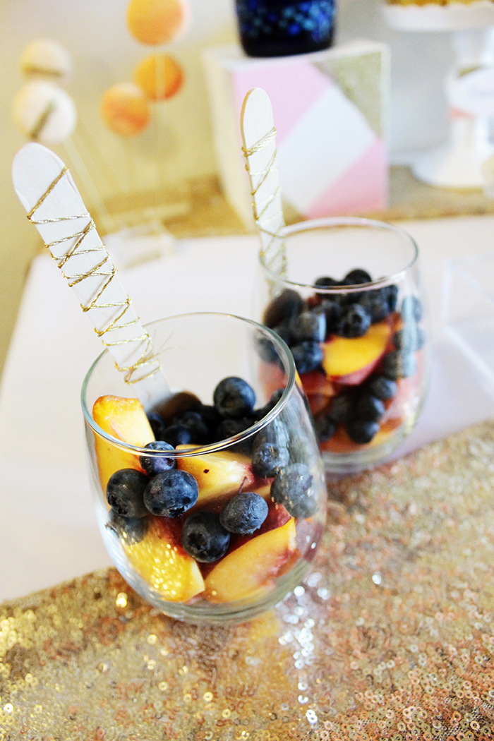 Peach And Nacy Girl Night Fruit Cups