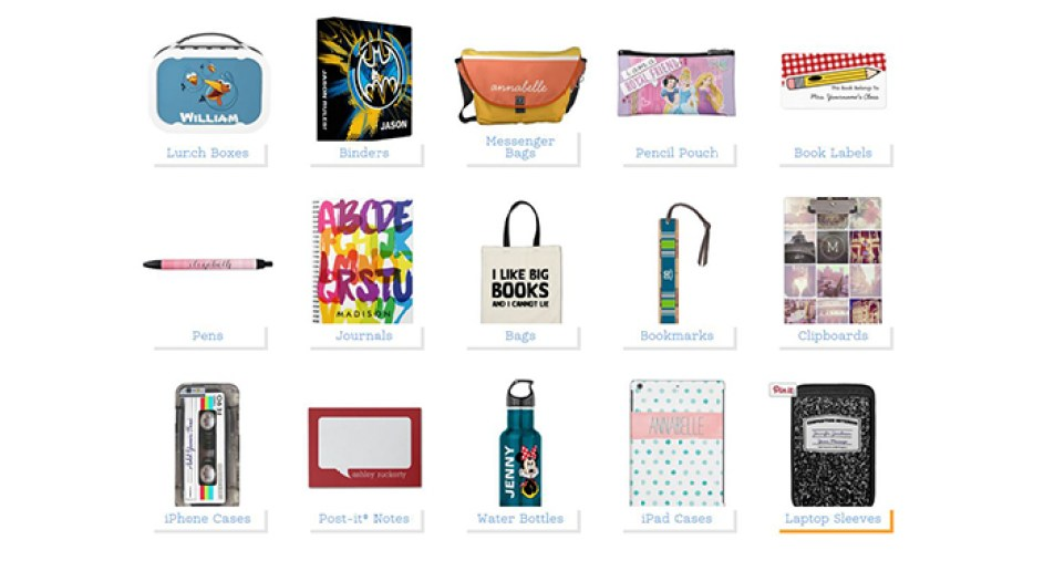 Zazzle Back To School Popular Products