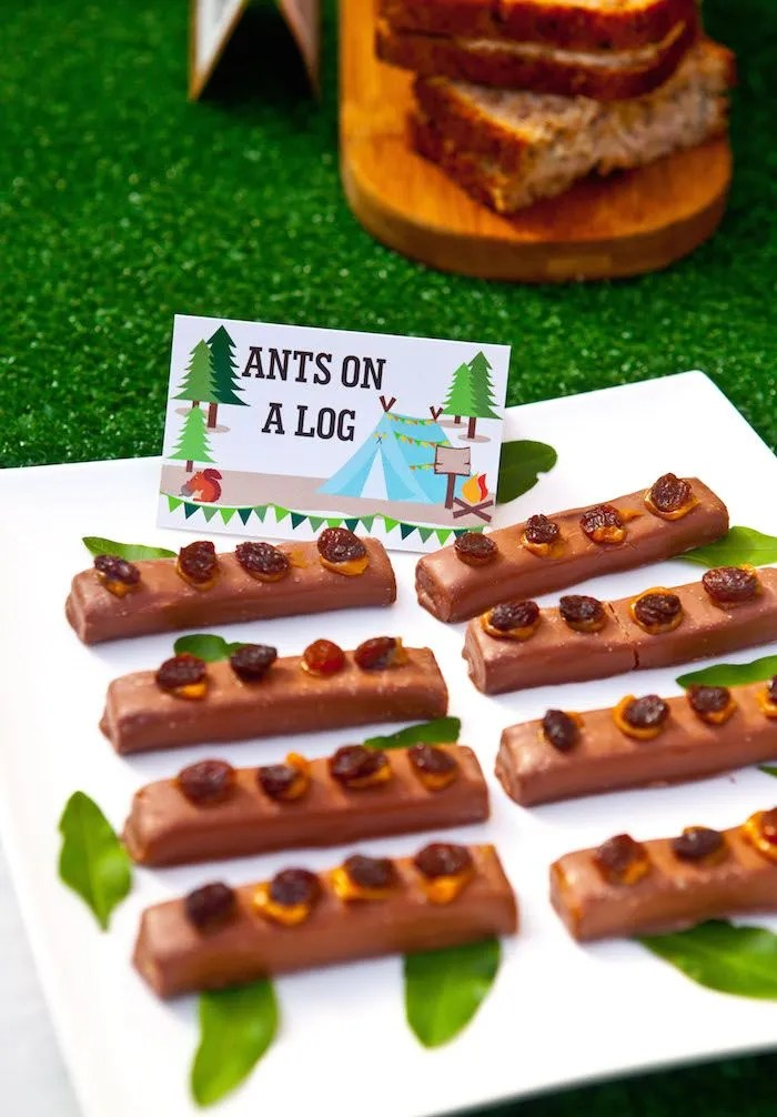 Ants on A log Wood party treat!