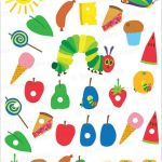 Hungry caterpillar free printables