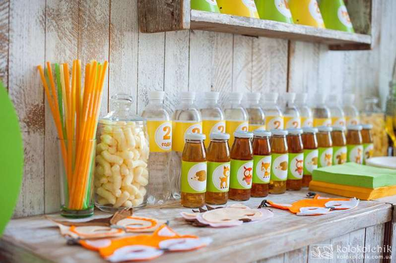 Love These Woodland Party Drinks