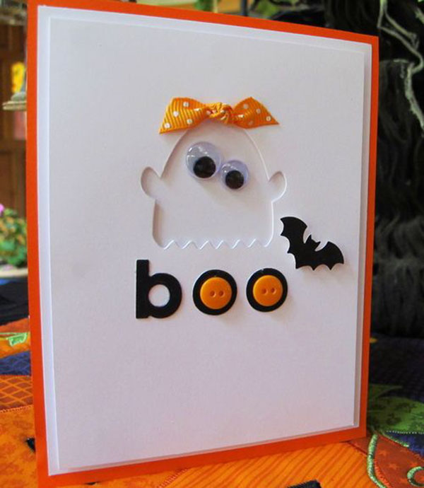 Googly Eye Ghost Invite! Love this!