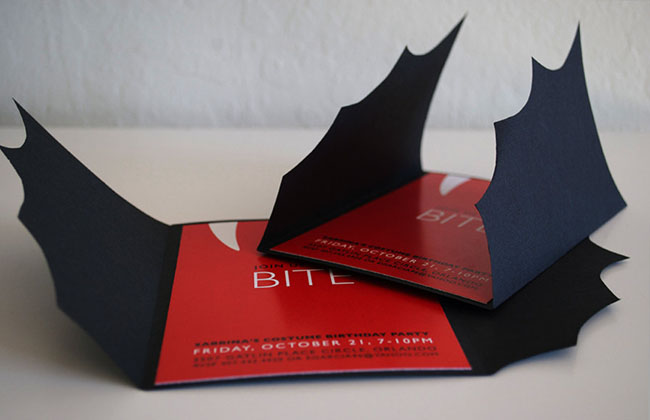 Love These Dracula Bite Invitations!