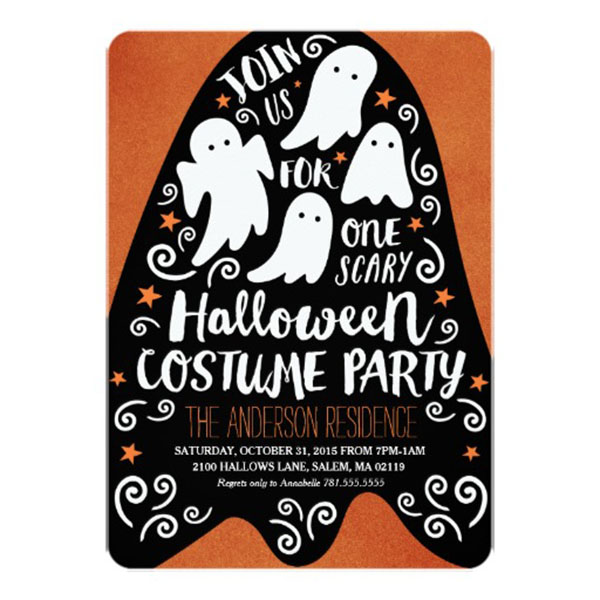 Love This Ghost Halloween Invitation!