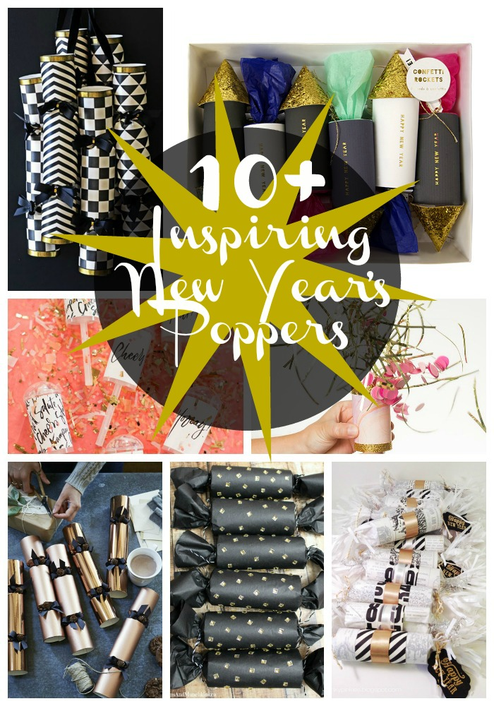 10+ Inspiring New Year's Poppers- B. Lovely Events