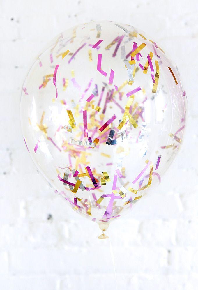 Fun confetti Balloons