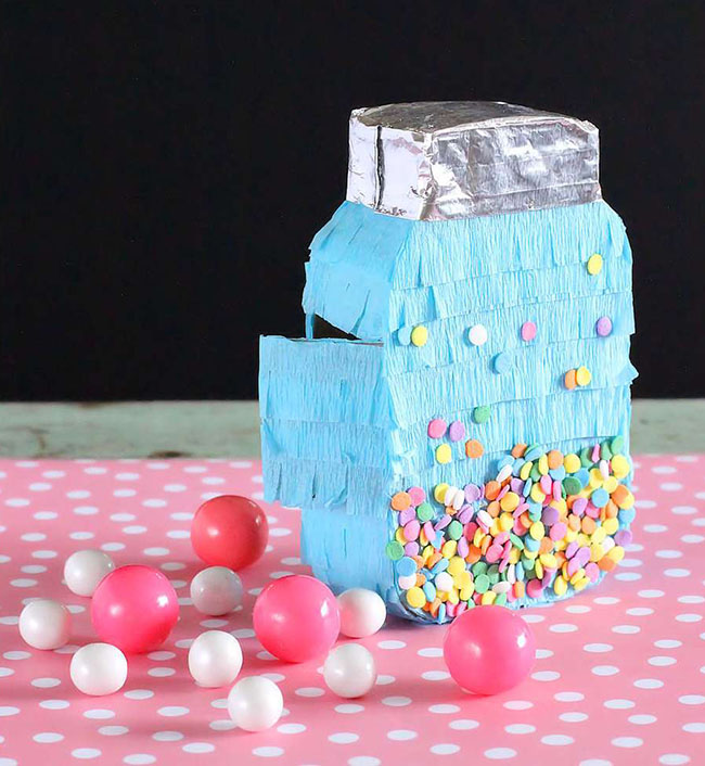 Sprinkle party pinata! So cute!
