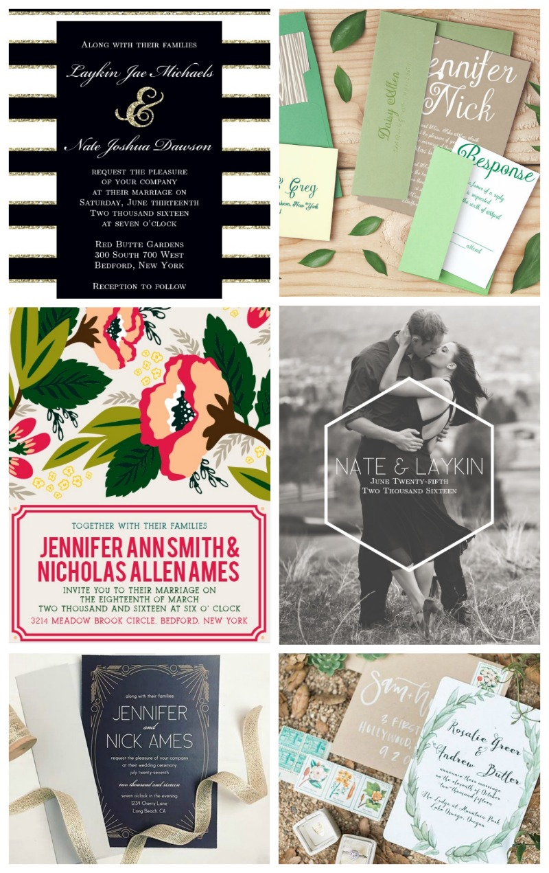 Basic Invite Wedding Invitations!