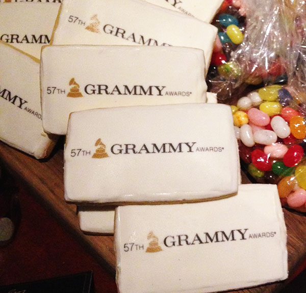 GRAMMYs Award cookies!