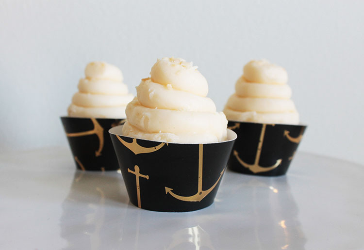 New Nautical Cupcake Wrappers In The Shop!