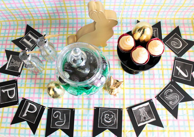 Chalkboard Easter Party! -Learn The How To On B. Lovely Events