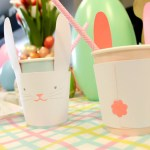 Easter Bunny Cups-The Cutest!- See more at B. Lovely Events