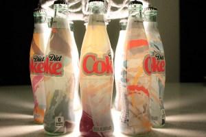 Quick & Easy DIY Bottle Chandelier! {With Diet Coke It's Mine Bottles!}