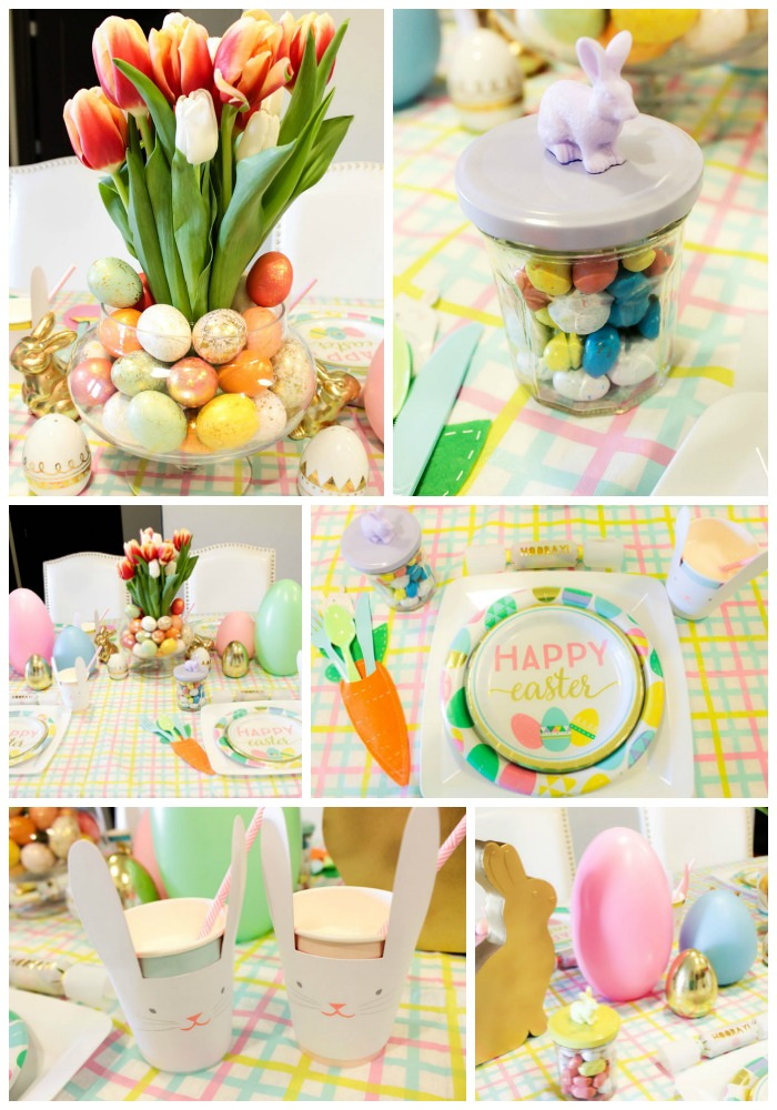 Lovely Easter Kids Table - B. Lovely Events