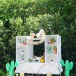 Fun Cactus Party Set up - See more amazing party trends for 2016 at B. Lovely Events!