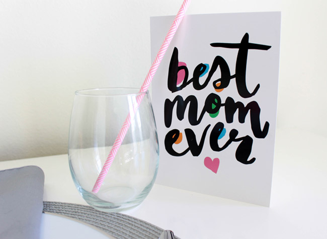 Fun Modern Mother's Day Card- Get The Step By Step Guide On B. Lovely Events