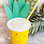 Fun Pineapple Cups For party!
