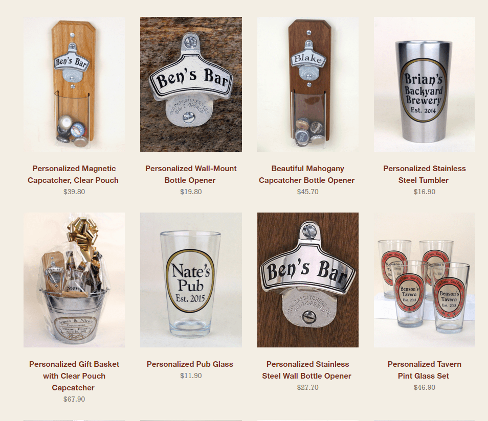 Groomsmen beer gifts- great bridal party gifts!
