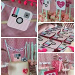 Instagram Party Inspiration - See more amazing party trends for 2016 at B. Lovely Events!