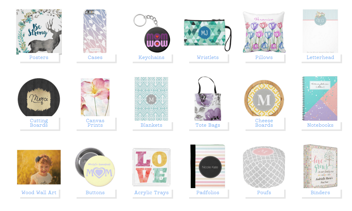 Mother's Day Gifts With Zazzle