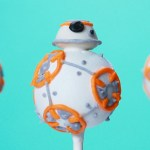 BB8 Star Wars Cake Pops