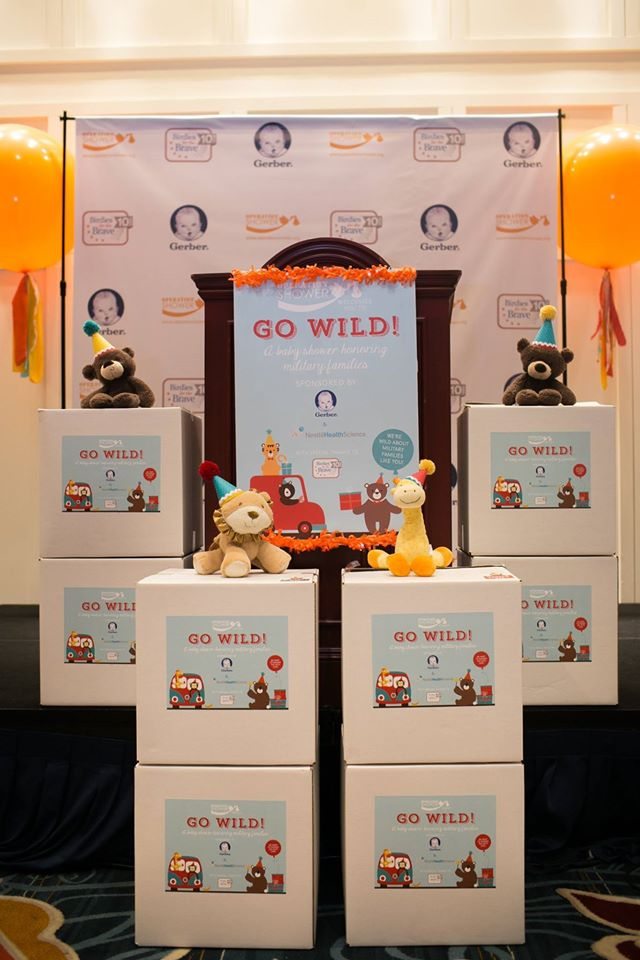 Go Wild! Baby Shower Diapers- Operation Shower- See All The Photos On B Lovely Events!