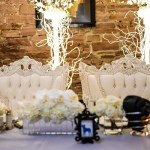 King And Queen Chairs For Wedding Head Table! - B. Lovely Events