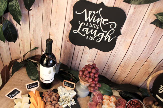 Rustic Tuscan Themed Wine And Cheese Night With Sequoia Grove B Lovely Events