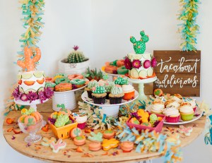 Vibrant Cactus Fiesta for Cinco De Mayo!