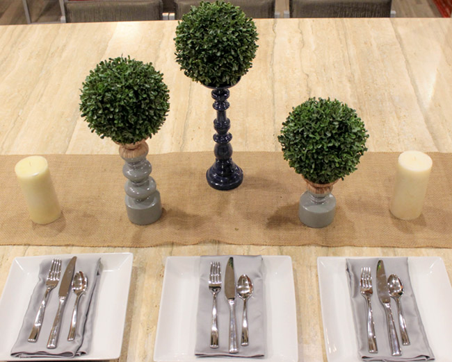 DIY Topiary Boxwood Modern Centerpieces (4) -Learn How To Make Them On B. Lovely Events