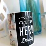 Daddy your our hero fathers day mug