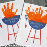 Daddy's My Grilling Partner Father's Day Card -See more Grillin Father's Day Ideas On B. Lovely Events!