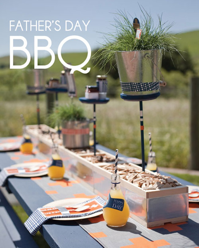 Father's Day BBQ Grill Day! Love this! -See more Grillin Father's Day Ideas On B. Lovely Events!