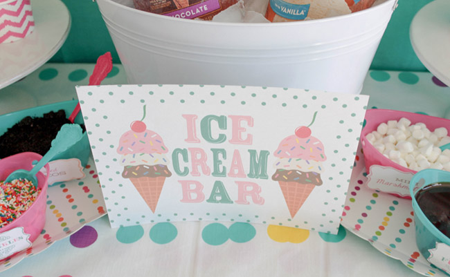 Ice Cream Party Sign For A Fun Summer Ice Cream Party!- See more ice cream party ideas on B. Lovely Events