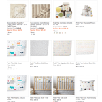 Nursery Bedding from Baby Cubby