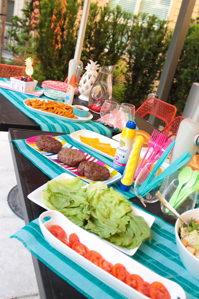 This Summer Burger Bar Has Everything You Could Ever Need! - B. Lovely Events