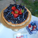4th Of July Berry Pie See All Of The Lovely Party Details on B. Lovely Events!