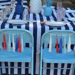 4th Of July Celebration Tablescape See All Of The Lovely Party Details on B. Lovely Events!