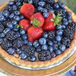 4th Of July Celebreation Red White And Blue Pie See All Of The Lovely Party Details on B. Lovely Events!