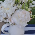 4th Of July White Centerpiece See All Of The Lovely Party Details on B. Lovely Events!