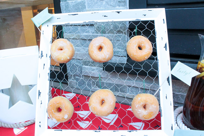 Donut Wall- Fun for a BBQ - B. Lovely Events