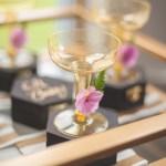 Floral Baby Shower drink bar