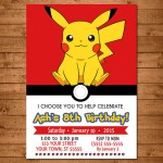 Pokemon Party Invitation- See more cute Pokemon Party Ideas on B. Lovely Events