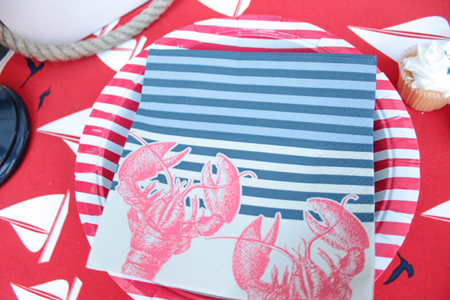 Summer BBQ Napkins BBQ Plates and Napkins- so cute! - B. Lovely Events
