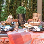 Woodsy, Rustic, Outdoors, Au Natural, Alfresco Tablescape!- See More Woodsy Tablescape Details On B. Lovely Events