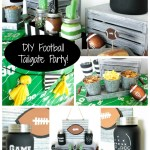 DIY Football Tailgate Party- B. Lovely Events