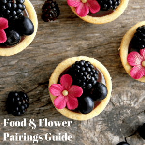 Food And Flower Pairing: Great For A Dinner Party!