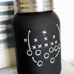 lovely-football-mason-jar-diy- B. Lovely Events Shop